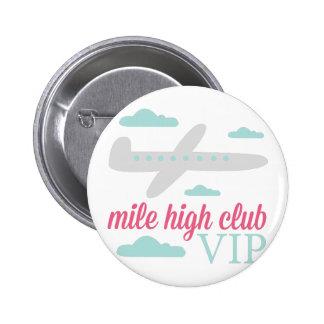 Mile High Club Pinback Button