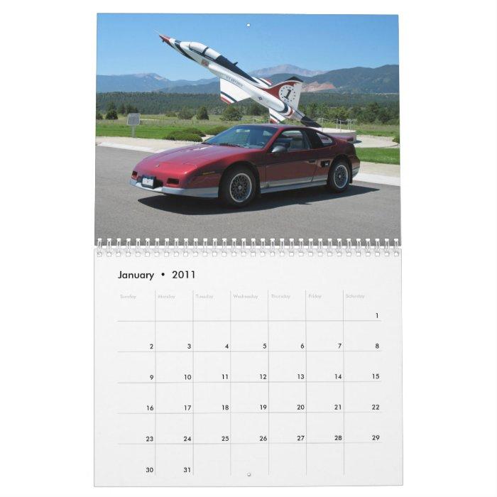 Mile High Fieros 2011 Calendar