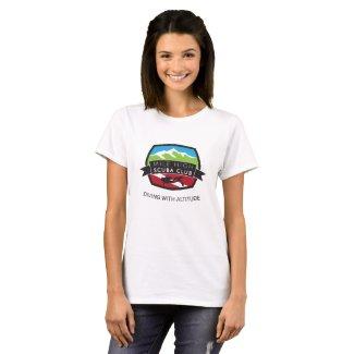 Mile High Scuba Club Basic White T Ladies T-Shirt