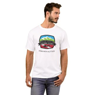 Mile High Scuba Club Basic White T T-Shirt