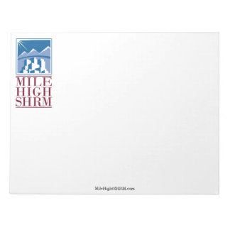 Mile High SHRM Note Pad