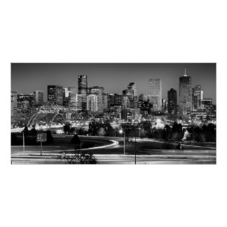 Mile High Skyline Poster