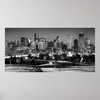 Mile High Skyline Poster