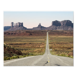 Mile Marker 13 Utah Highway Monument Valley Photo Print