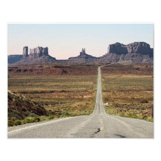 Mile Marker 13 Utah Highway Monument Valley Photo
