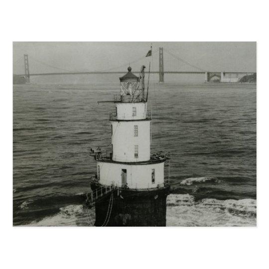 Mile Rocks Lighthouse Postcard