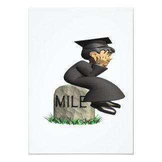 Mile Stone 2 5x7 Paper Invitation Card