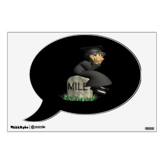 Mile Stone 2 Wall Decal