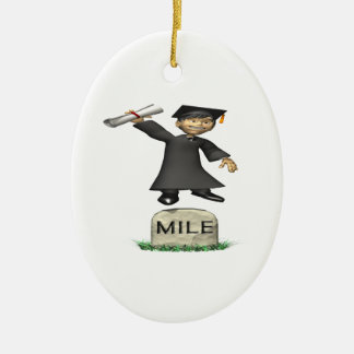 Mile Stone Christmas Ornament