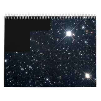 Mile-Wide Asteroid Streaks By Background of Stars Calendars