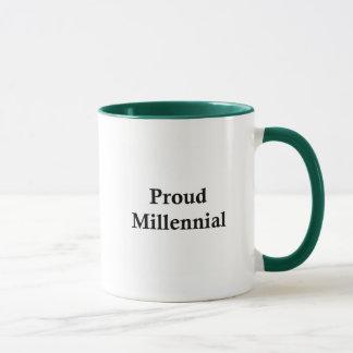 Milenario orgulloso taza