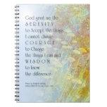 Milenrama del rezo de la serenidad cuadernos