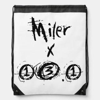 Miler x 13,1 - corredor divertido del mochila
