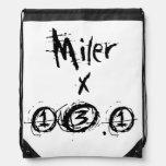 Miler x 13.1 - Funny Half-Marathon Runner Backpack