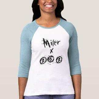 Miler x 26.2 - Funny Marathon Runner Tshirts