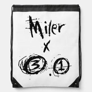 Miler x 3,1 - corredor divertido 5k mochilas