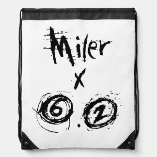Miler x 6,2 - corredor divertido 10k mochila