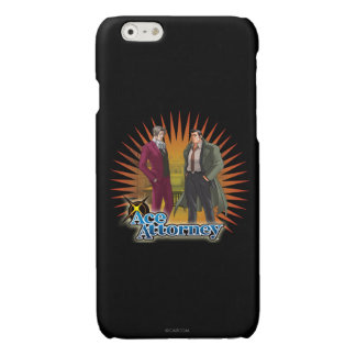 Miles and Gumshoe Glossy iPhone 6 Case