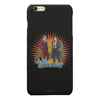 Miles and Gumshoe Glossy iPhone 6 Plus Case
