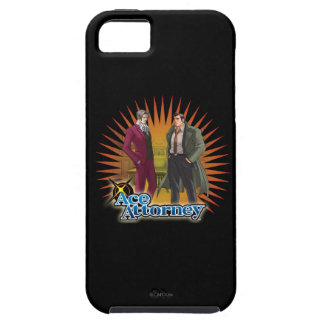 Miles and Gumshoe iPhone SE/5/5s Case