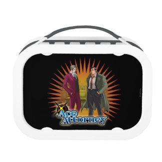 Miles and Gumshoe Lunch Box