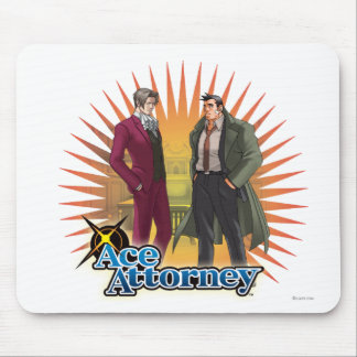 Miles and Gumshoe Mouse Pad