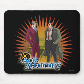 Miles and Gumshoe Mouse Pads