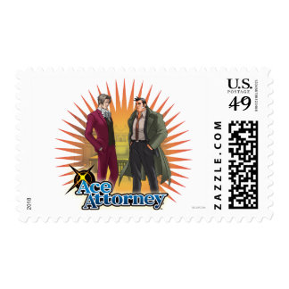 Miles and Gumshoe Stamp