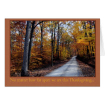 Miles Apart Thanksgiving Card