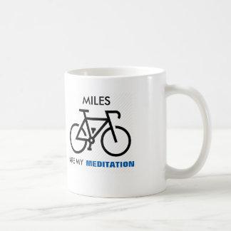 Miles Are My Meditation Coffee Mug