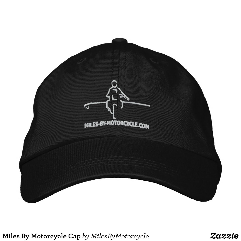 Miles By Motorcycle Cap