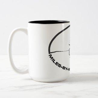 Miles By Motorcycle Coffee Mug