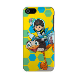 Incipio Feather Shine iPhone 5/5s Case with Miles Callisto & Merc the Robo-Ostrich design