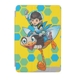 iPad mini Cover with Miles Callisto & Merc the Robo-Ostrich design
