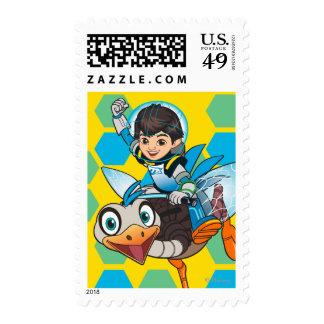Miles Callisto & MERC Robotic Sidekick 2 Stamps