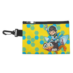 Clip On Accessory Bag with Miles Callisto & Merc the Robo-Ostrich design