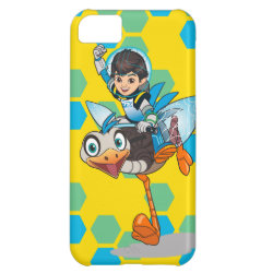 Case-Mate Barely There iPhone 5C Case with Miles Callisto & Merc the Robo-Ostrich design
