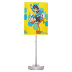 Table Lamp with Miles Callisto & Merc the Robo-Ostrich design
