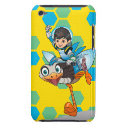 Case-Mate iPod Touch Barely There Case with Miles Callisto & Merc the Robo-Ostrich design