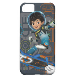 Case-Mate Barely There iPhone 5C Case with Miles Callisto on his Blastboard design