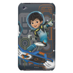 Miles Callisto on his Blastboard Case-Mate iPod Touch Barely There Case