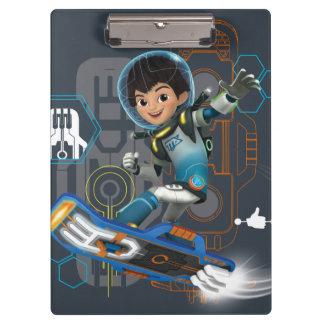 Miles Callisto On His Blastboard Graphic Clipboard