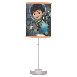 Table Lamp with Miles Callisto on his Blastboard design