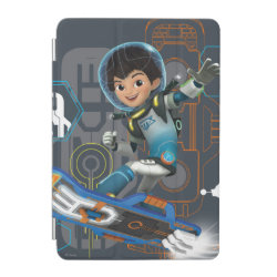 iPad mini Cover with Miles Callisto on his Blastboard design
