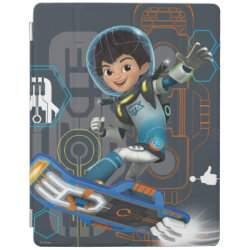 iPad 2/3/4 Cover with Miles Callisto on his Blastboard design