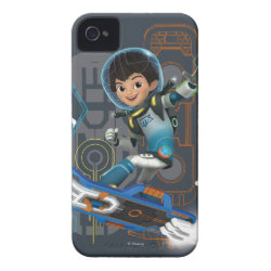 Case-Mate iPhone 4 Barely There Universal Case with Miles Callisto on his Blastboard design
