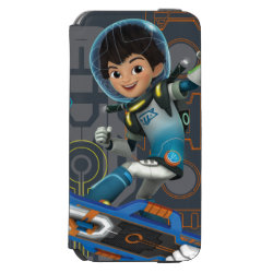 Miles Callisto On His Blastboard Graphic iPhone 6/6s Wallet Case