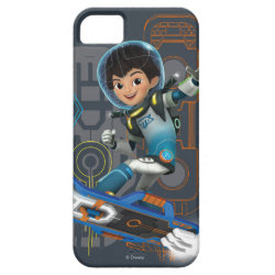 Miles Callisto On His Blastboard Graphic iPhone SE/5/5s Case