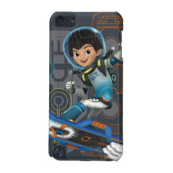 Case-Mate Barely There 5th Generation iPod Touch Case with Miles Callisto on his Blastboard design