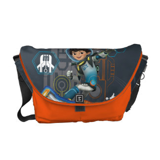 Miles Callisto On His Blastboard Graphic Messenger Bag